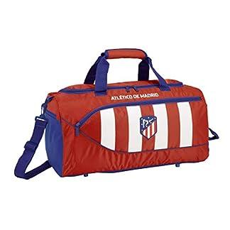 41tTBC8xNfL. SS324  - Atlético de Madrid Bolsa Deporte Bolso de Viaje 50 cm.
