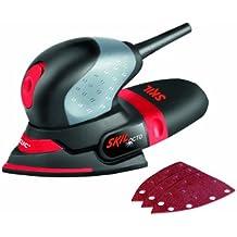 Skil 7207AA - Octo multilijadora compacta (100 W, 100 x 150 mm, bolsa para el polvo, juego de 3 accesorios)
