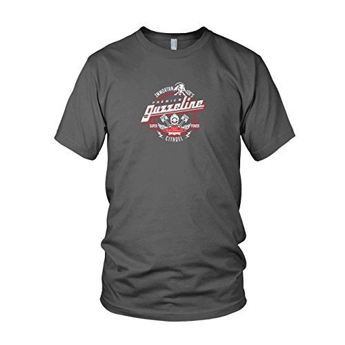 Immortan Joe's Premium Guzzeline - Herren T-Shirt, Größe: M, Farbe: grau