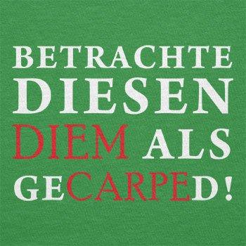Texlab–Diem gecarped–sacchetto di stoffa Verde