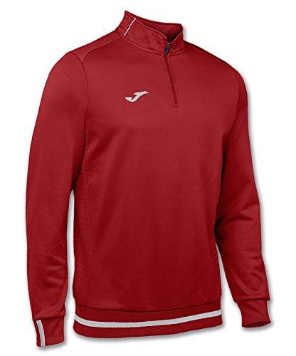 Joma Campus II Sweatshirt Zip-Top rot rot, XL (Joma Fußball)