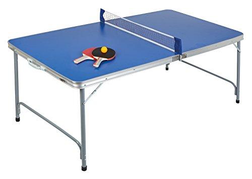 Idena 40464-Mesa de Ping-Pong Compact, Plegable, 160x 80x 70cm