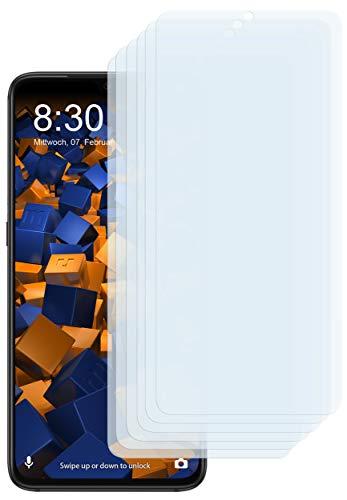 mumbi Schutzfolie kompatibel mit Xiaomi Mi 9 Folie klar, Displayschutzfolie (6X)