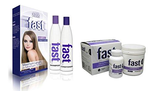 Rapide Shampoing et après-shampoing 300 ml + rapide Cheveux fortifiant Compléments