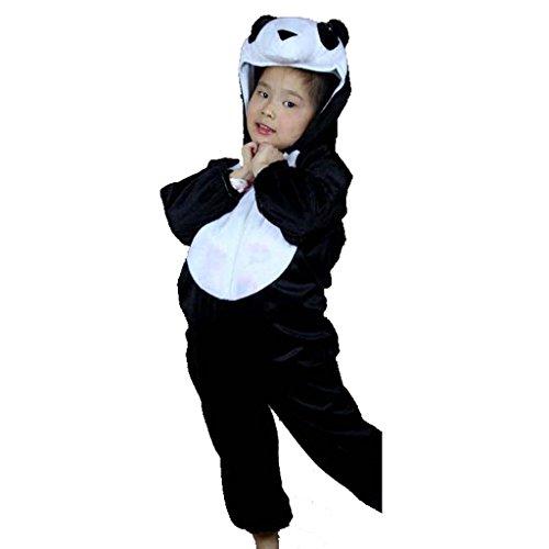 Wgwioo Karikatur Kindergarten Panda Anzug Kollektion Kinder Kostüm Schule Spiel Party Kleidung Lose Teen Jungen Mädchen Tragen Kinder Bühnenaufführungen . 1# . (Arbeit Erwachsene Kostüme Halloween Tragen)