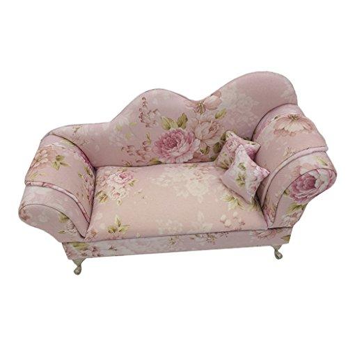 Hellery Weinleseblumendruck Mini Möbel Schmuck Aufbewahrungsbox Fall Veranstalter Geschenk 6 - Viktorianischen Sofa