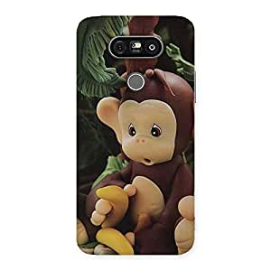 Enticing Toy Monkey Multicolor Back Case Cover for LG G5