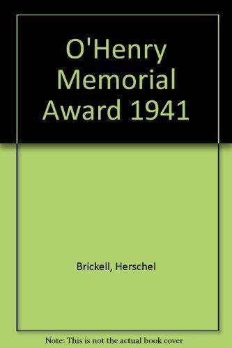 O'Henry Memorial Award 1941