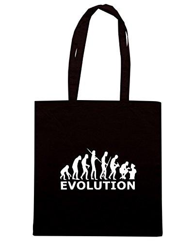 T-Shirtshock - Borsa Shopping EVO0034 Geek Evolution Maglietta Nero