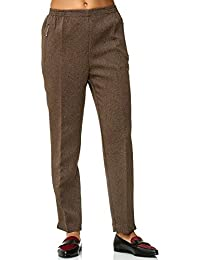 JillyMode Hochwertige Damen Schlupfhose mit Gummizug - Die unkomplizierte  und Bequeme Hose für Dem Alltag- auch Sehr geeignet für… 0a714f4cdd