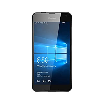 Microsoft Lumia 650 UK SIM-Free Smartphone - Black (Renewed)