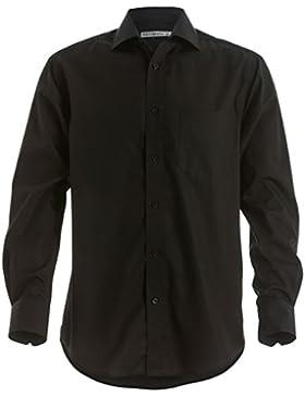 Premium non-iron Corporate camicia a maniche lunghe