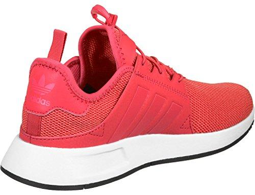 adidas Unisex-Erwachsene X PLR J 579 Sneaker, Mehrfarbig (Red Bb2579), 35.5 EU