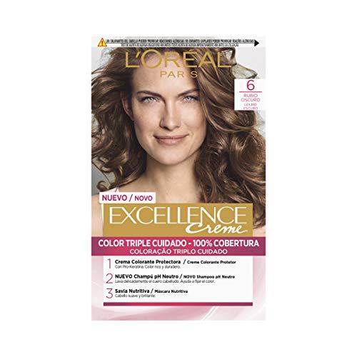 L'Oréal Paris Excellence Coloración Excellence Crème Triple Protección 6...