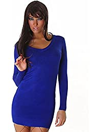 purple v neck multicolored love Long sleeve Jumper Dress Top pencil mini outfit wear one size fit uk 8/10/12 one size gift option