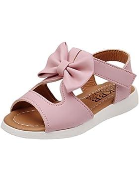 K-youth® Zapatos Nniña Verano Zapatos Princesa Niña Zapatos Bebe Niña Bautizo Sandalias de Vestido Flat Shoes...
