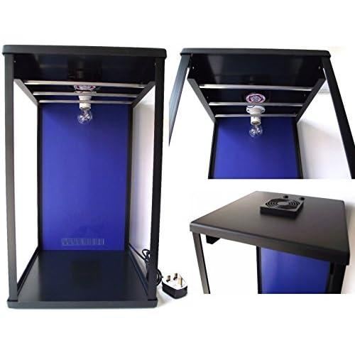 41tTLrI NxL. SS500  - Biltong Maker Biltong Box Beef Jerky Dehydrator Biltong Spice with BLUE Back Panel, 100g FREE SPICE and Light Bulb