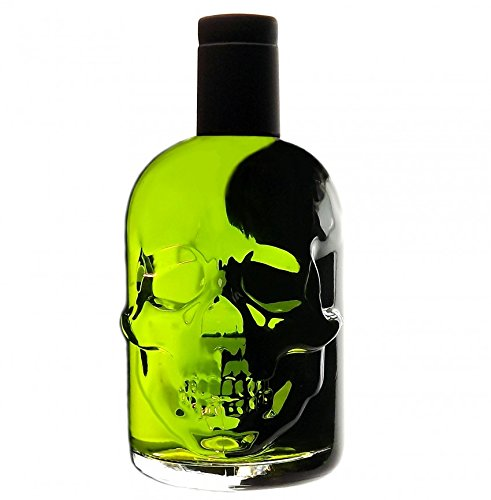 Absinth Skull Totenkopf grün 0,5L mit maximal erlaubtem Thujon 35mg/L 55%Vol