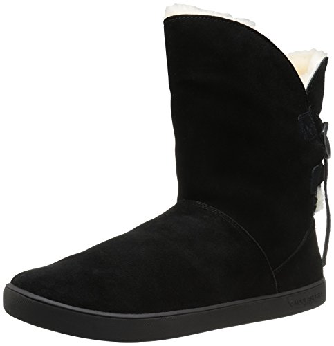 c0e9030b616 Koolaburra by UGG Women's Shazi Short Boot, Black, 08 M US