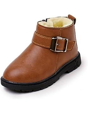 TPulling Mode Herbst Und Winter Baby Baumwolle Kaschmir Schnalle Stiefel Martin Sneaker Warm Stiefel Kinder Freizeitschuhe