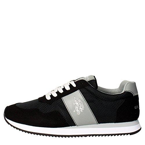 U.s. Polo Assn COMET4145S5/CS Sneakers Uomo Camoscio/tessuto NERO NERO 43