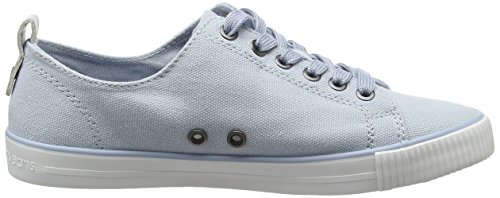 Calvin Klein Jeans Dora Canvas, Sneakers Basses Femme Turquoise (Chambray)