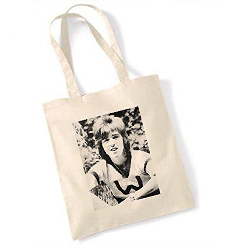 Roller-magazin (Bay City Rollers Stuart (Woody) Woods 3 Natural Handtasche)