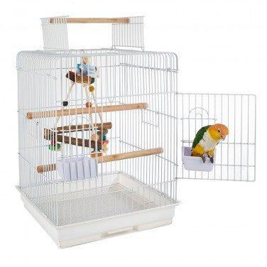 rainforest-santa-monica-cage-white