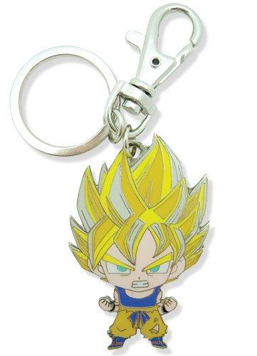 Dragon Ball Z: Sd Super Saiyan Goku Metal Keychain