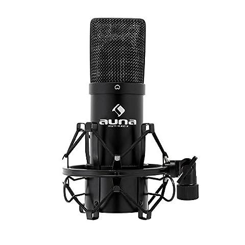 Auna MIC-900 USB Cardioid Studio Condenser Microphone