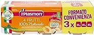Plasmon Omogeneizzato 4 Frutti, 24 x 80 g