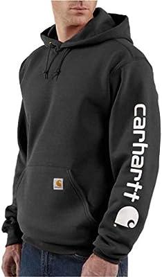 Carhartt Signature-Sudadera con capucha Hombre, con Carhartt Logo