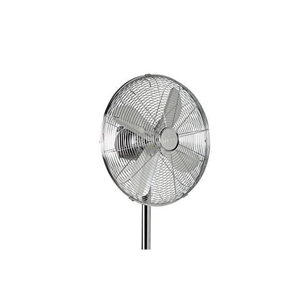 Juego-de-mesa-ventilador-y-ventilador-de-pie-en-plata-3-niveles-de-potencia