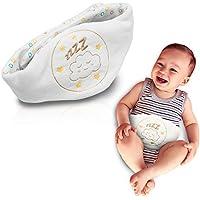 Babyjem Kirschkernkissen - Größenverstellbarer Wärmekissen Für Babys - Kirschkern Ideal Geeignet bei Bauchschmerzen Blähungen und Koliken aus 100% Baumwolle