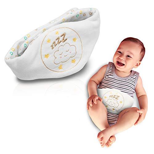 Babyjem Kirschkernkissen - Wärmekissen für Babys - Flexibler als Wärmflasche ideal geeignet bei Bauchschmerzen und Blähungen - Körnerkissen/Dinkelkissen aus hochwertiger Baumwolle