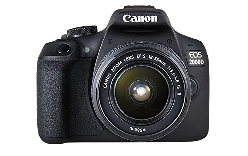 Canon EOS 2000D + EF-S 18-55mm f/3.5-5.6 IS II SLR Camera Kit...