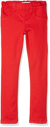 NAME IT Mädchen Hose NITTINNA Skinny TWI Legging F NMT NOOS, Rot True Red, 134