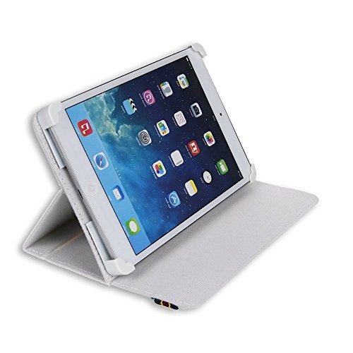 tablet irulu Danystar® Custodia Cover Universale / Regolabile 8   per Tablets come Acer Iconia W3