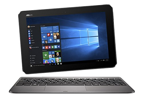 'Asus t101ha-gr004t tableta táctil 10,1 gris metal (Intel Atom, 2 GB de RAM, 64 GB, Windows 10) (importado)