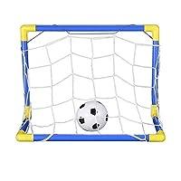 Specifiche tecniche: Colore: blu e giallo Età:> 3 anni Materiale: plastica Tipo: Softball Dimensioni: 447x250x323mm Peso netto: 188 g La confezione include: 1 set di fotogrammi Football Goal Post 1 x calcio gonfiabile 1 x Net 1 x Inflator ...