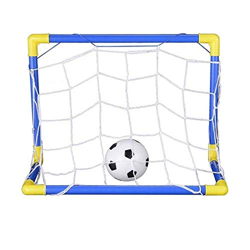 LBAFS Folding Mini Fußball Fußball Torpfosten Net Set Mit Pumpe Kinder Sport Spielzeug