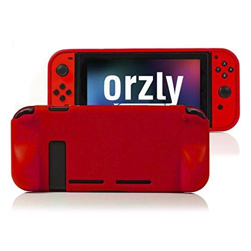 Orzly Coque pour Nintendo Switch Lite - Grip Case, Coque de Protection pour l'arrière de la Console...