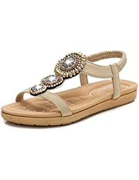 Donyyyy Sandalias de mujeres,color albaricoque,44  Zapatos de moda en línea Obtenga el mejor descuento de venta caliente-Descuento más grande