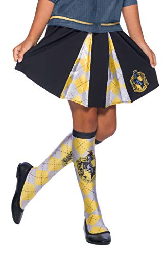 Hufflepuff Kostüm Robe - Rubie's 39031NS Hufflepuff Kostüm, Mädchen, Mehrfarbig