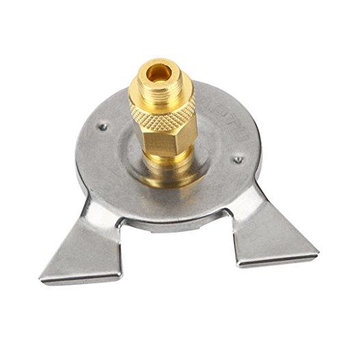 perfeclan Campingkocher Adapter Schlauch Ventil Adapter -