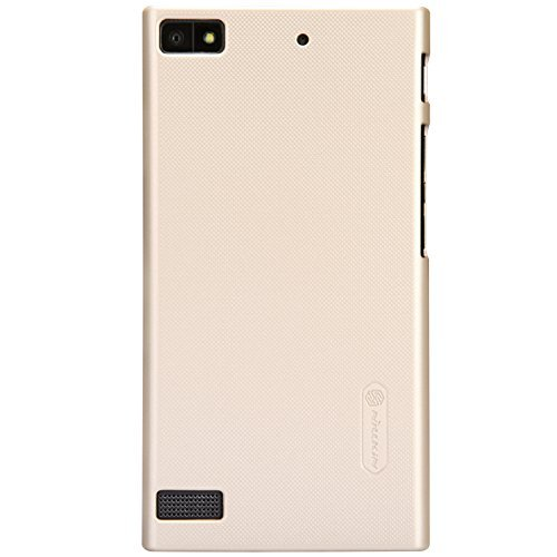 Nillkin Frosted Shield Hard Bumper Back Case Cover For Blackberry Z3 With Free Nillkin Screen Guard - Gold