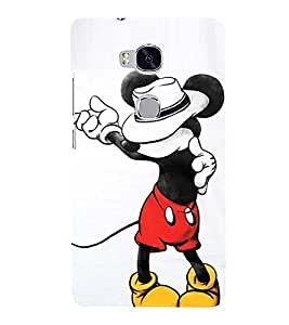 Vizagbeats mickymouse jackson Back Case Cover for Huawei Honor 5X
