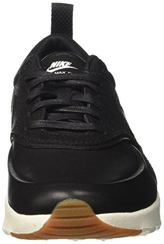 Nike Wmns Air Max Thea Prm, Sneakers Basses Femme Noir (Black/black/sail/gum Med Brown)