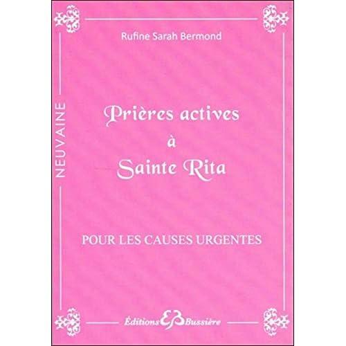 Prières actives à Sainte Rita - Pour les causes urgentes