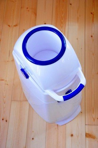 Geruchsdichter Windeleimer Diaper Champ regular blau – für normale Müllbeutel - 18